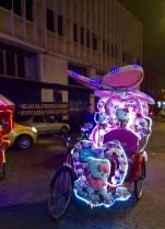 Japan has nothing on Malacca's rickshaws!