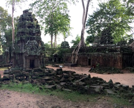 Ta Prohm was left pretty much left in the same state it was discovered