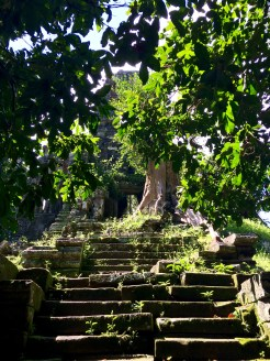 A glimpse of Preah Palilay, one of the smaller temples in Angkor Thom