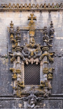 The Chapterhouse window, in Manueline style, Tomar, Portugal (27mm, 1/60s, f4.2, ISO 1000)