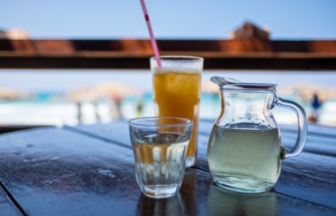 A drink by the beach (16mm, 1/4000s, f1.4, ISO 200)