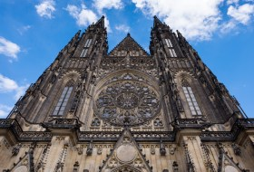 St. Vitus Cathedral facade, Prague (16mm, 1/400s, f5.6, ISO 200)