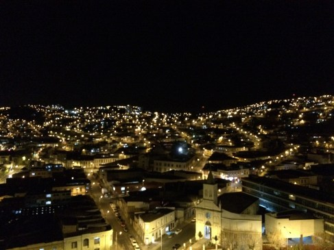 The view from our Airbnb apartment in Valparaiso, Chile