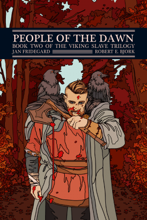 The cover of People of the Dawn: Book 2 of the Viking Slave Trilogy
