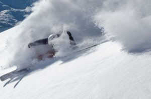 Downed skier