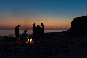 Fire at beach