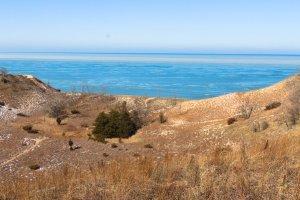 Lake Michigan from beach