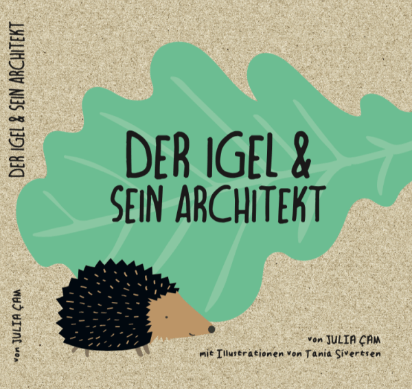Cover vom Pappbuch der Igel & sein Architekt