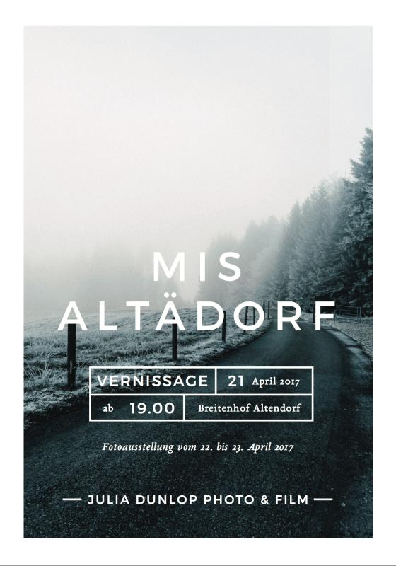 Mis Altädorf Vernissage und Fotoausstellung