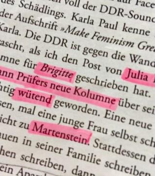 Lieber Harald Martenstein ….