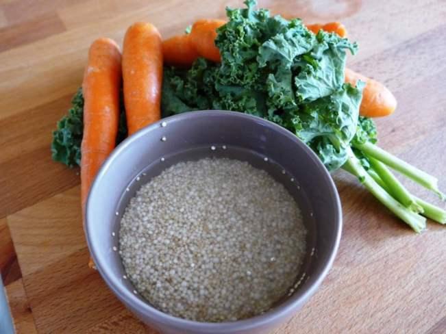 O que vai ser amanhã o jantar? Menu para a semana inteira, pela A Pitada do Pai creme-quinoa-002