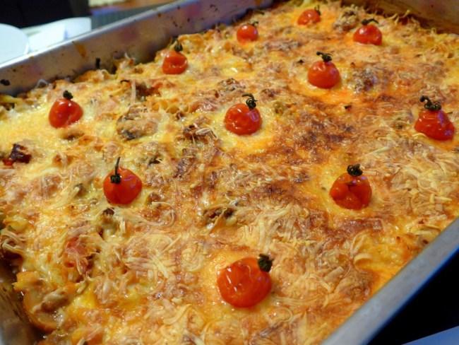 O que vai ser amanhã o jantar? Menu para a semana inteira, pela A Pitada do Pai empadao-couve-flor-002