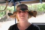 My Mother in her Fancy Sun Hat