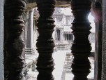 Peering Out the Temple