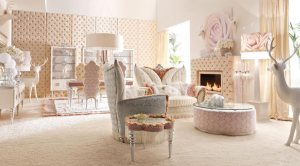 Luxurious-Baby-Pink-and-White-Living-Room-Interior