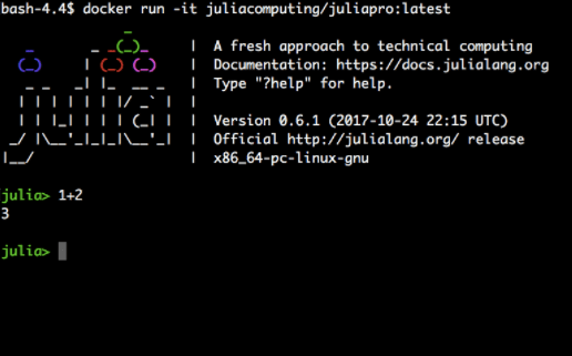 JuliaPro now available as an Amazon Machine Image and a Docker Image
