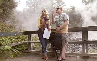 travel expert julia dimon tries geocaching in New Zealand