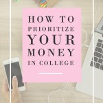 How To: Prioritize Your Money