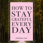 Ways to Stay Grateful