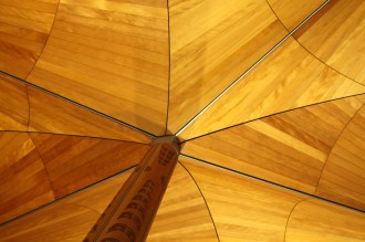 Love the kauri ceilings