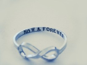 now & forever ring