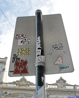 August 2012 Melbourne Poles Signs & Boxes-11