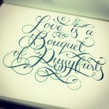 Calligraphuck Love is a bouquet of pussyfarts.