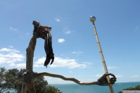 NZ Sculpture OnShore Nov 2012 (107) 'Pilgrims or God loves Fun' - Stefan Gerstmann