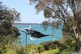 NZ Sculpture OnShore Nov 2012 (47) Paul Brunton 'Harikoa' - Joyful Exuberance