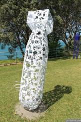NZ Sculpture OnShore Nov 2012 (74) Sean Crawford 'A Nation of Sheep'
