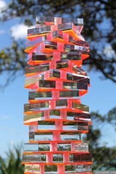 NZ Sculpture OnShore Nov 2012 (77) Sally Tagg 'Light Totem'