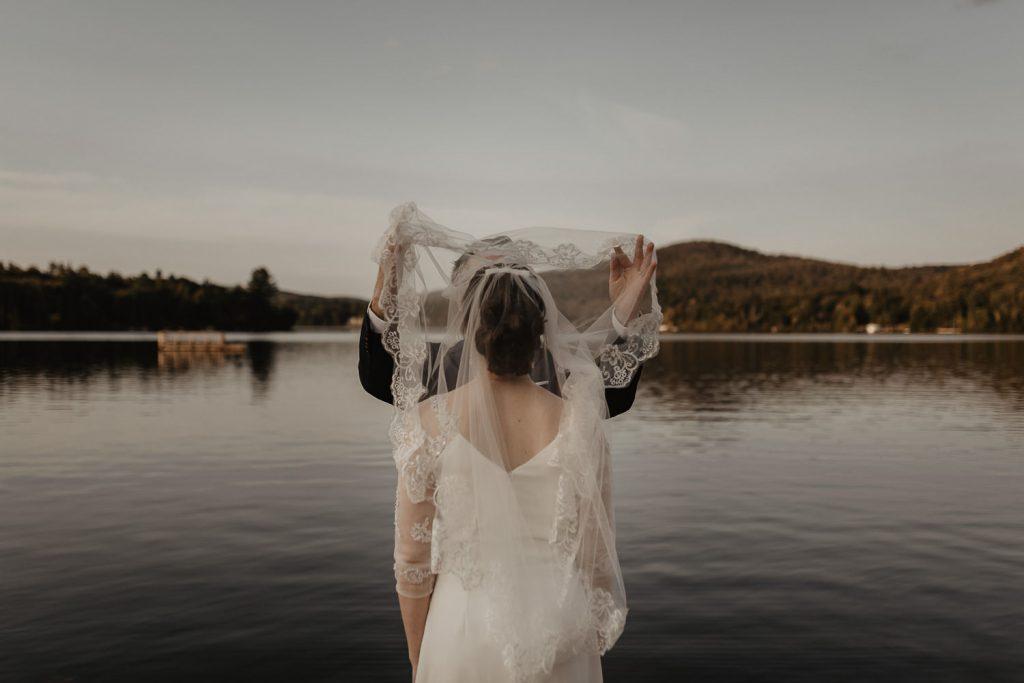 Wedding Tremblant Lake Mountain