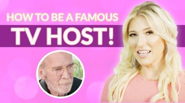 how do you become a famous tv host?