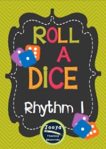 Roll a Dice Rhythm Set 1