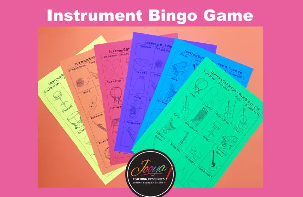 Music Instruments of the Orchestra Game from Jooya Teaching Resources. Insert some fun into your music classes with this simple and engaging game that your students will love. 30 different game boards, caller cards and game tokens that are ready for you to just print and use in your class straight away!