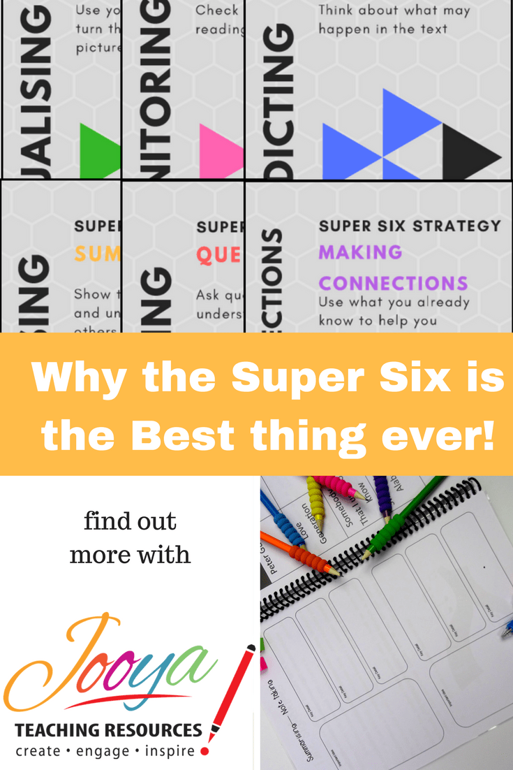 Blog Post from Jooya Teaching Resources – Why the Super Six is the Best Thing Ever!