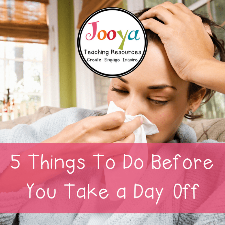 5 Things to Do Before You Take a Day Off