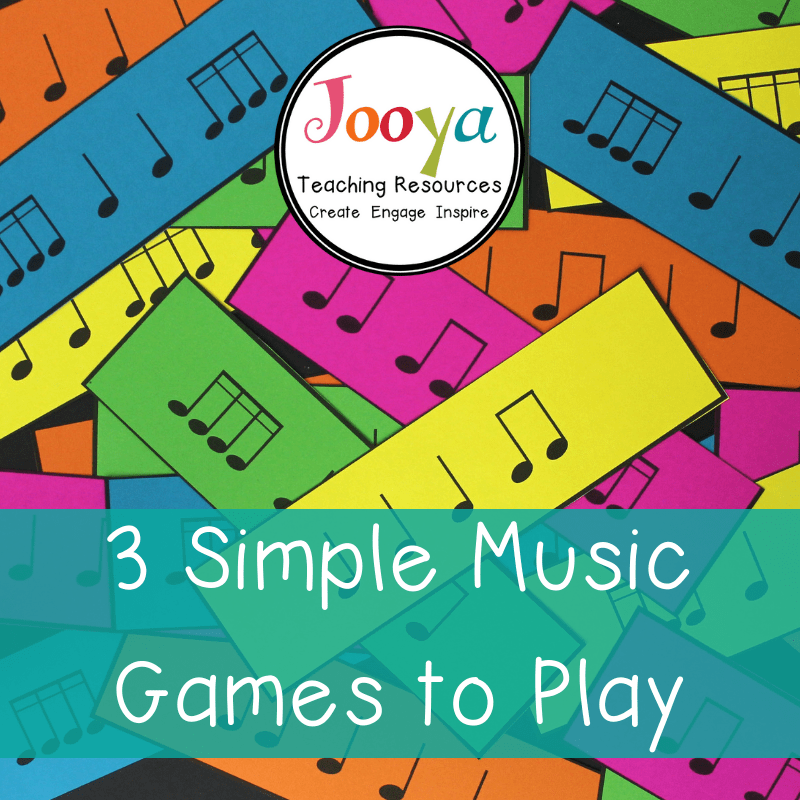 3 Simple Games to Play