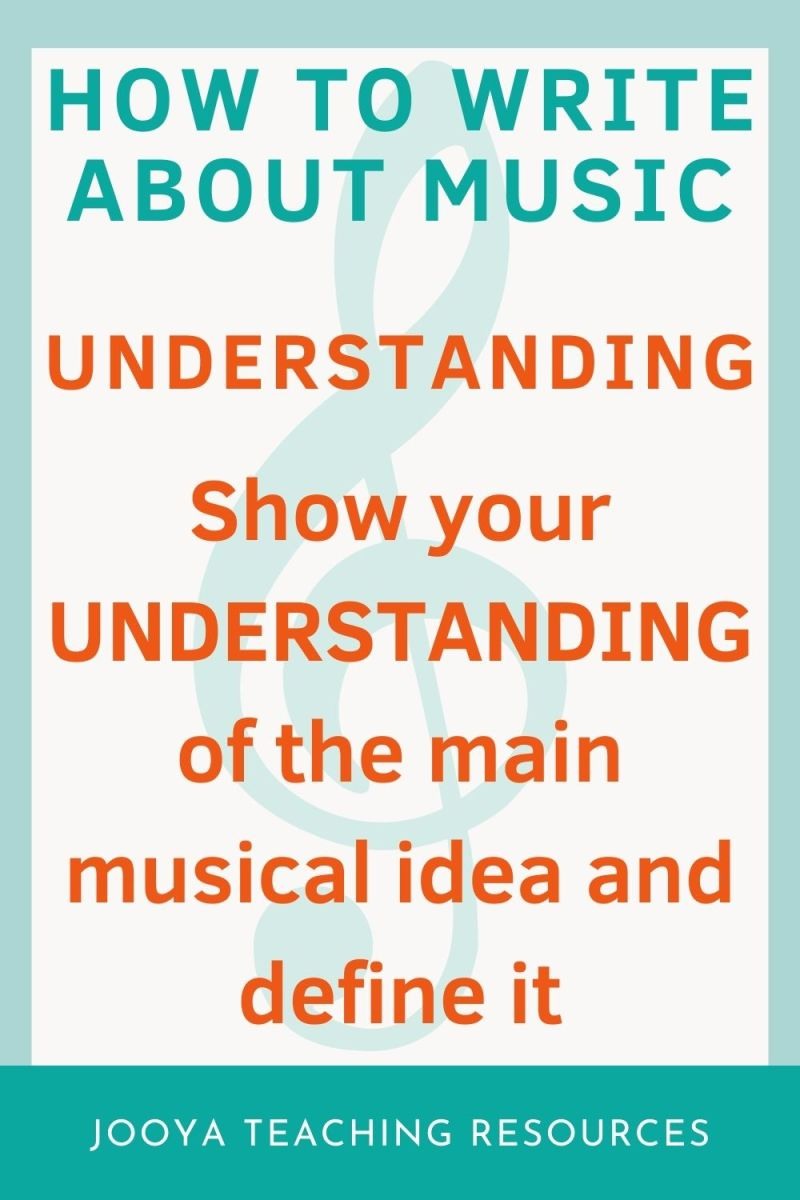 image for Understanding in the how to writo about music blog post