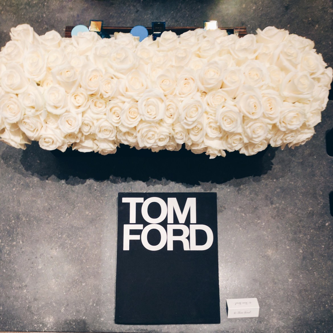 Tom Ford LFW lounge