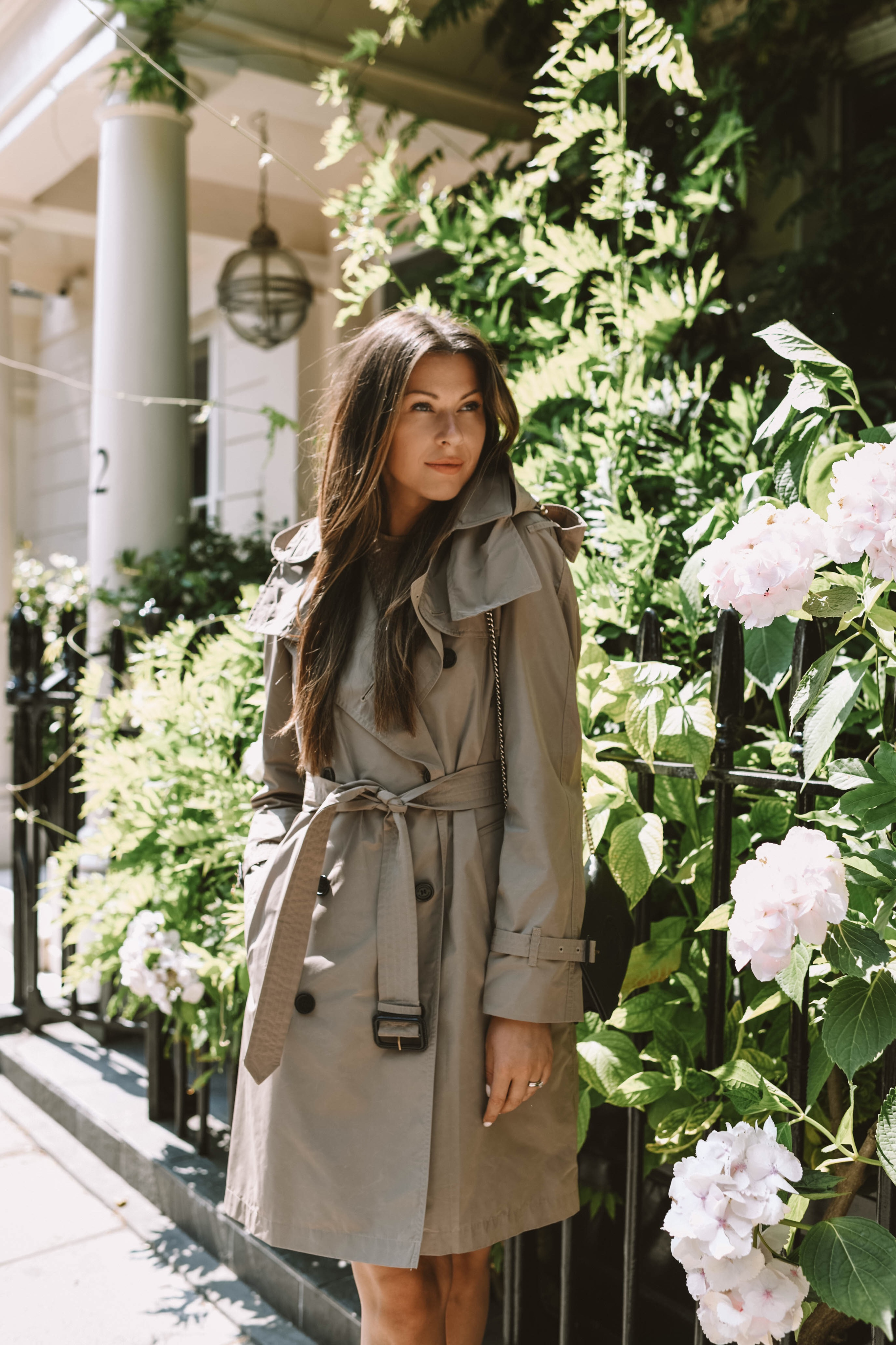Burberry trench coat available in Selfridges