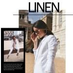 linen blazer / Julia Lundin