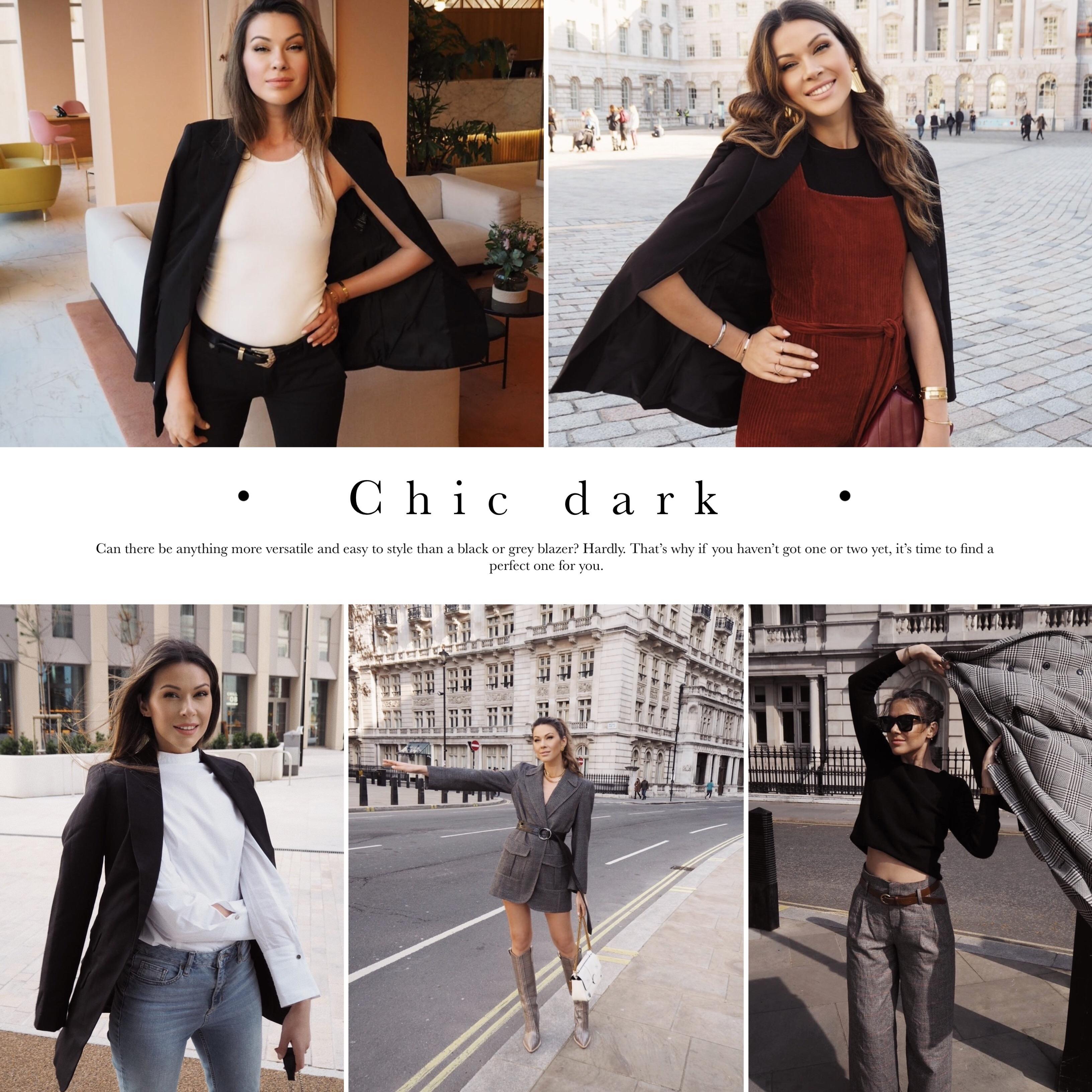 dark blazers / Julia Lundin