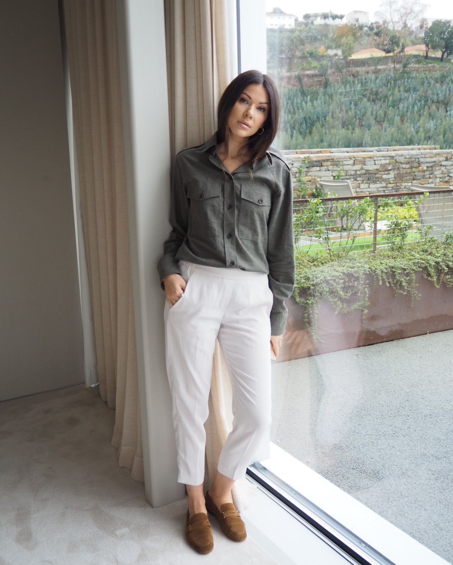 Wearing Joseph in Douro41