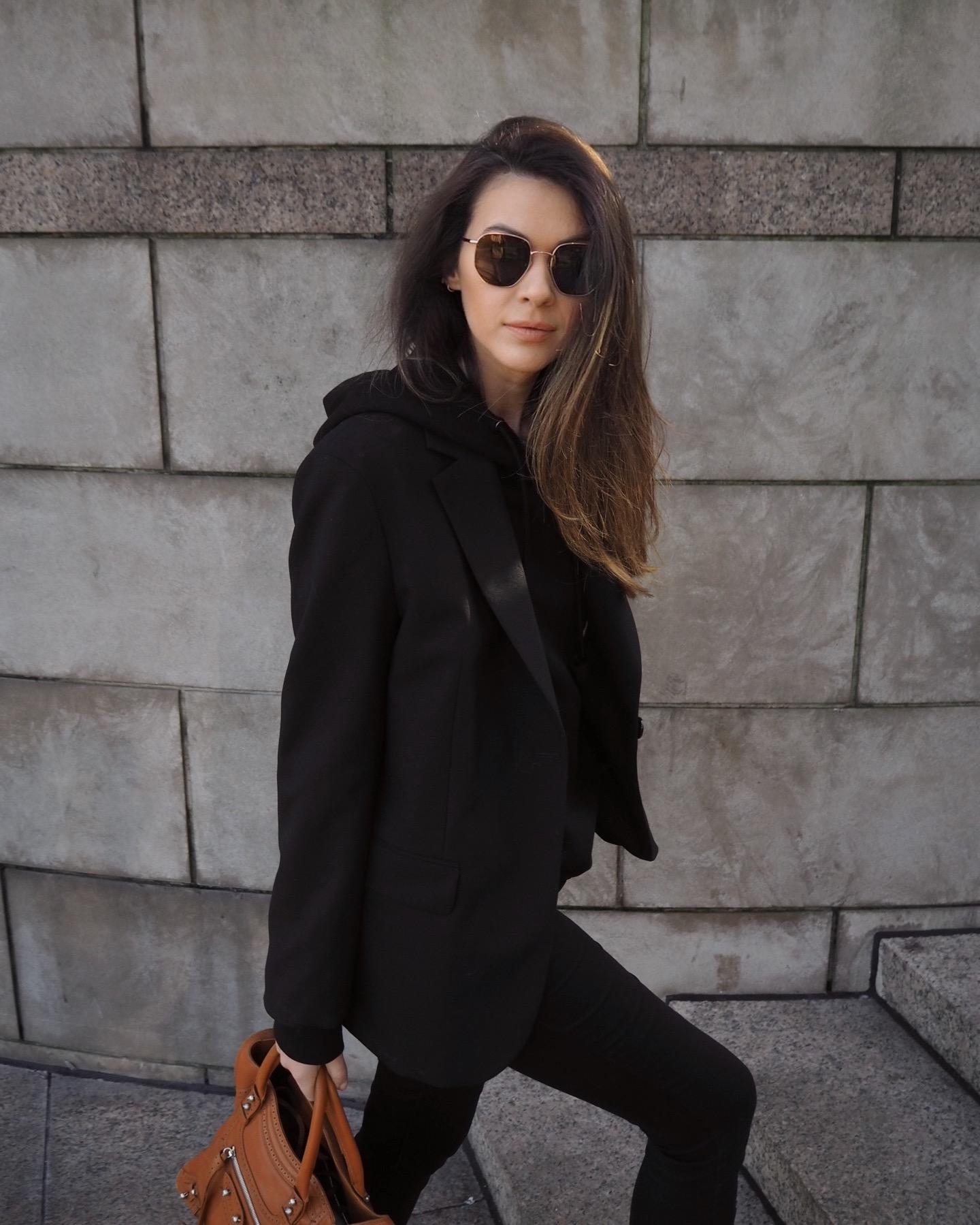 @julialundinblog wearing Arket