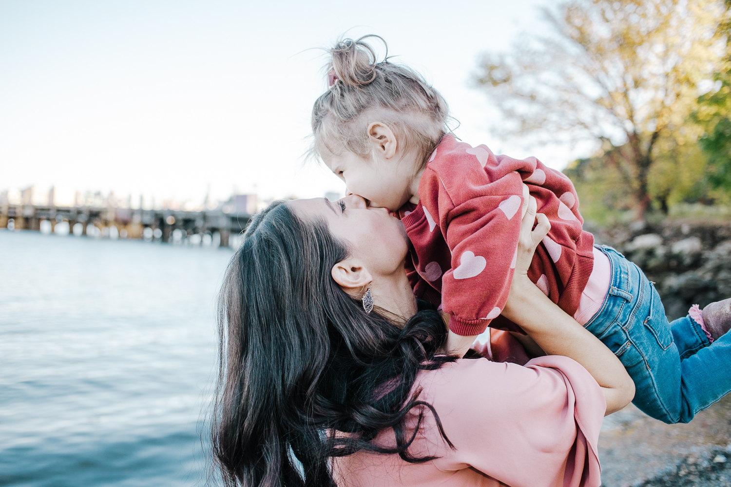 Lifestyle family photo session - Hoboken New Jersey