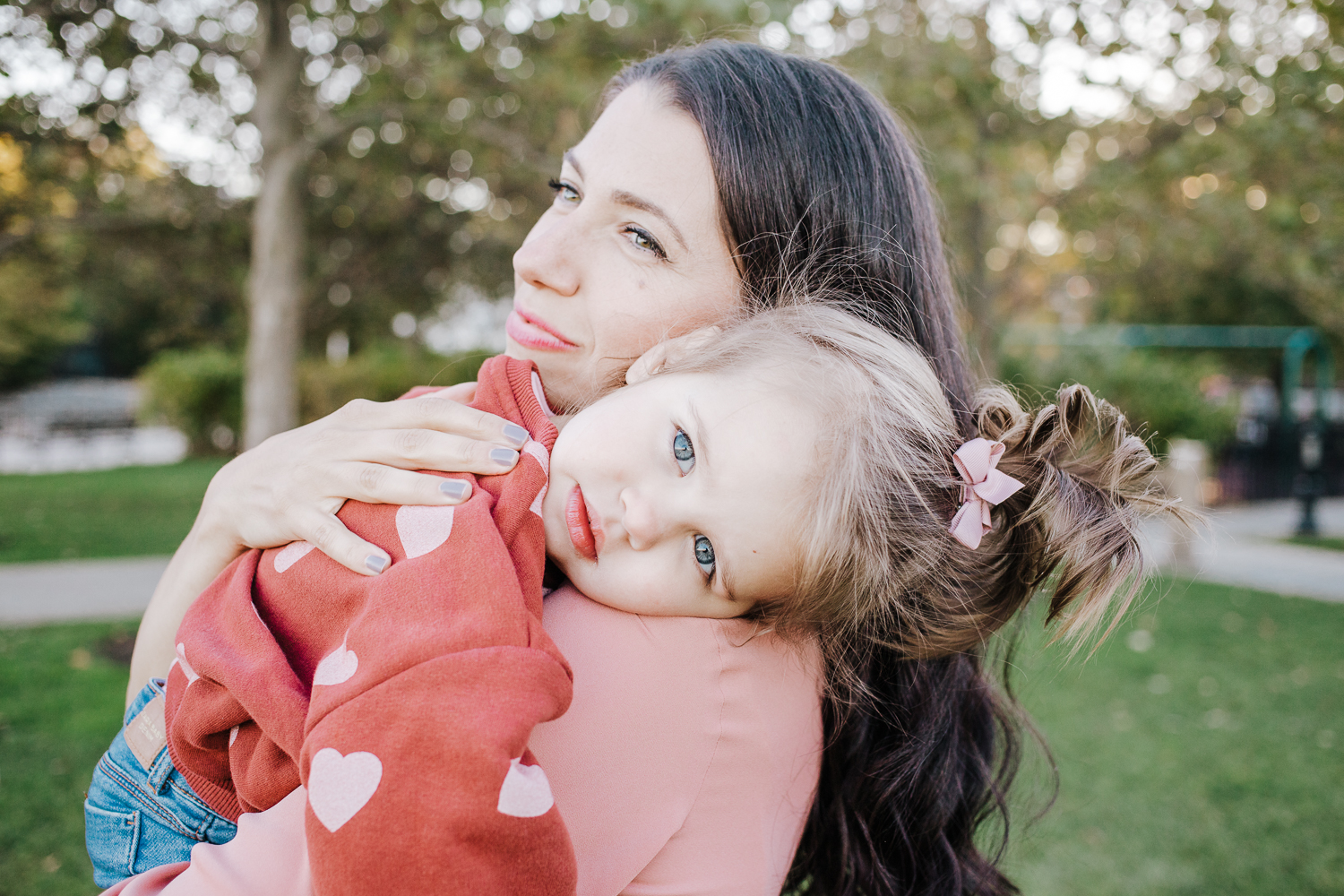 mother daughter photo session - hoboken