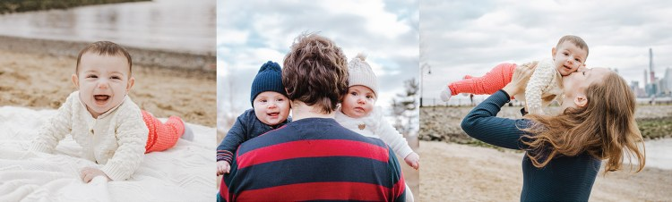 How to avoid 5 mistakes parents make before their New Jersey family photo session to get beautiful and connected family pictures with happy babies.