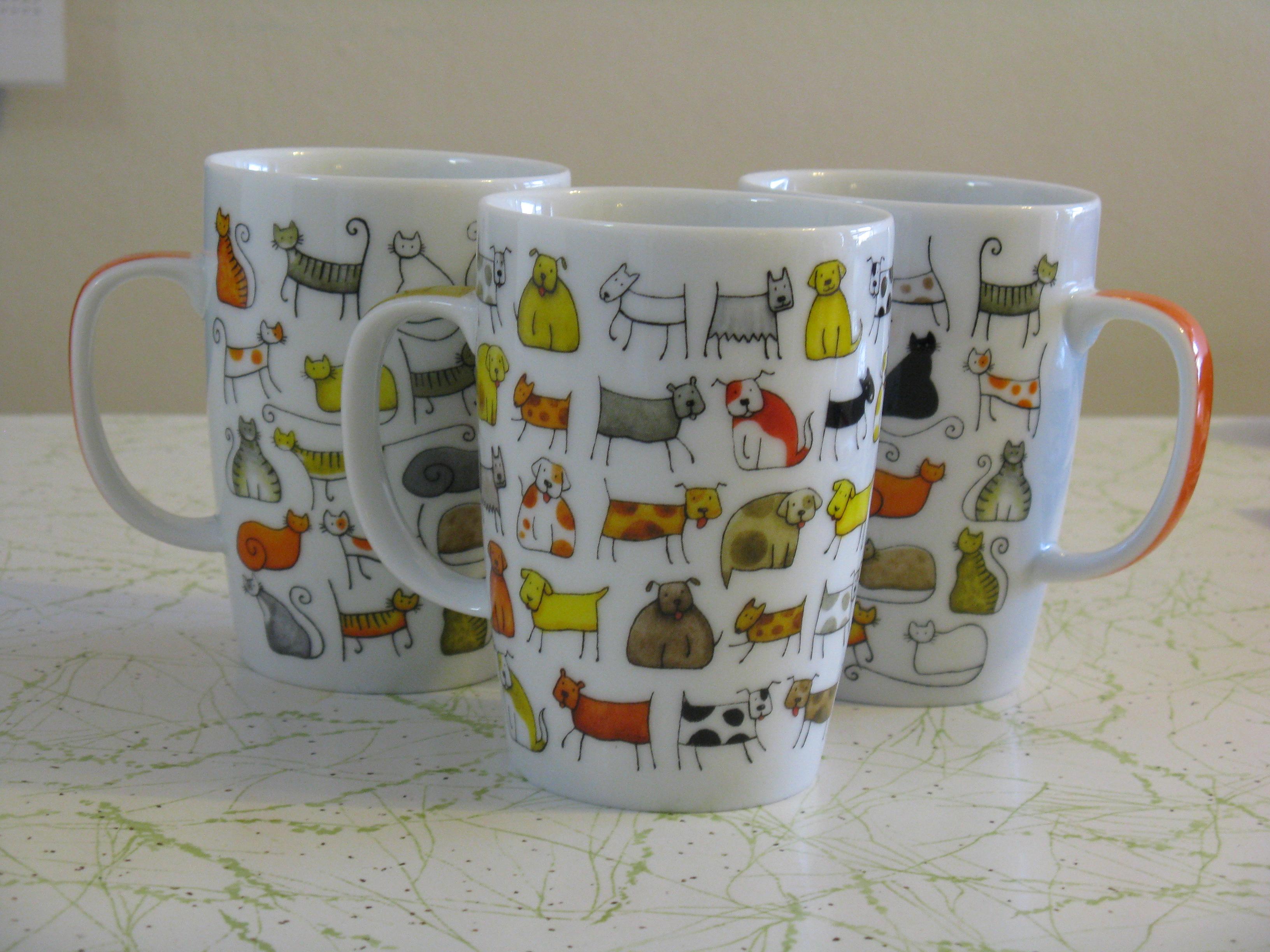 Pet mugs