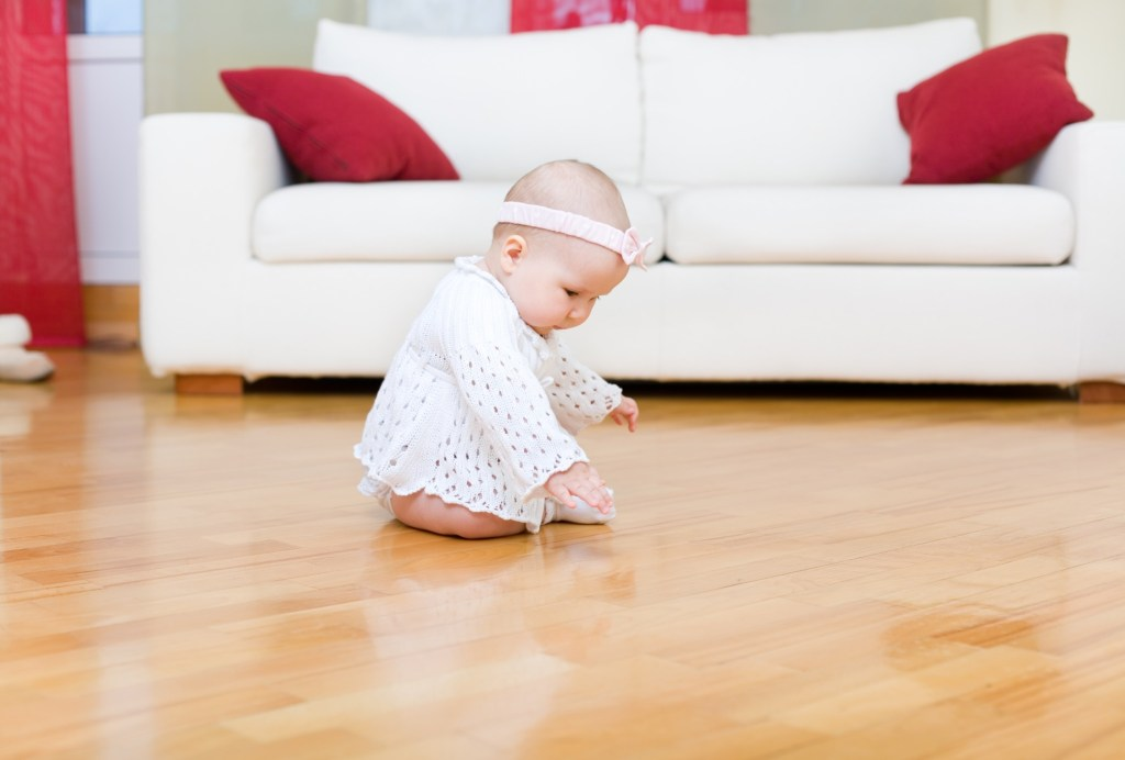 Hardwood floors are a high-value upgrade.
